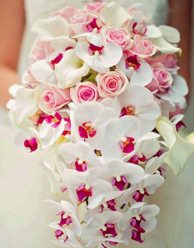Wedding Orchid Bouquet