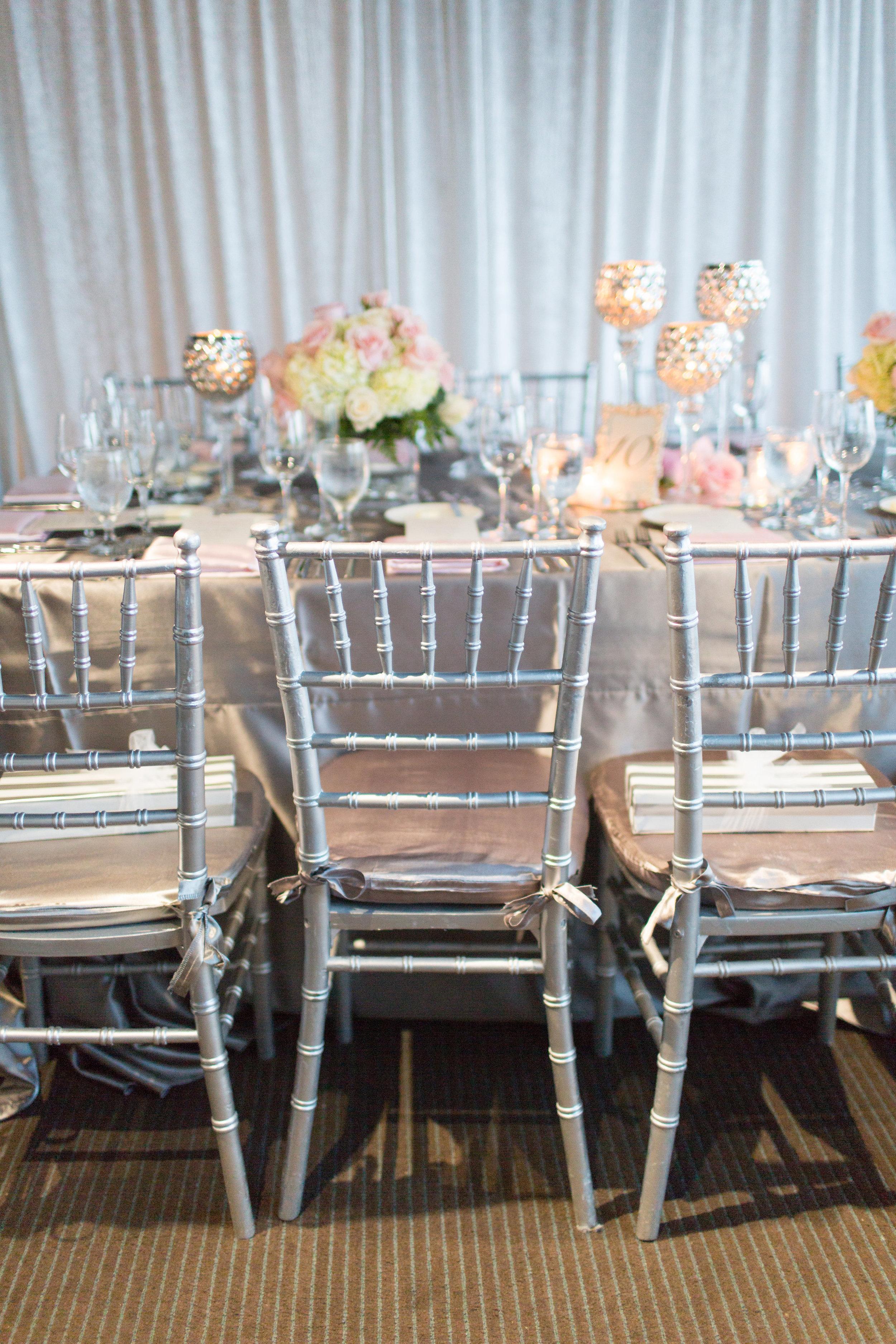 Wedding Flowers Bridal table