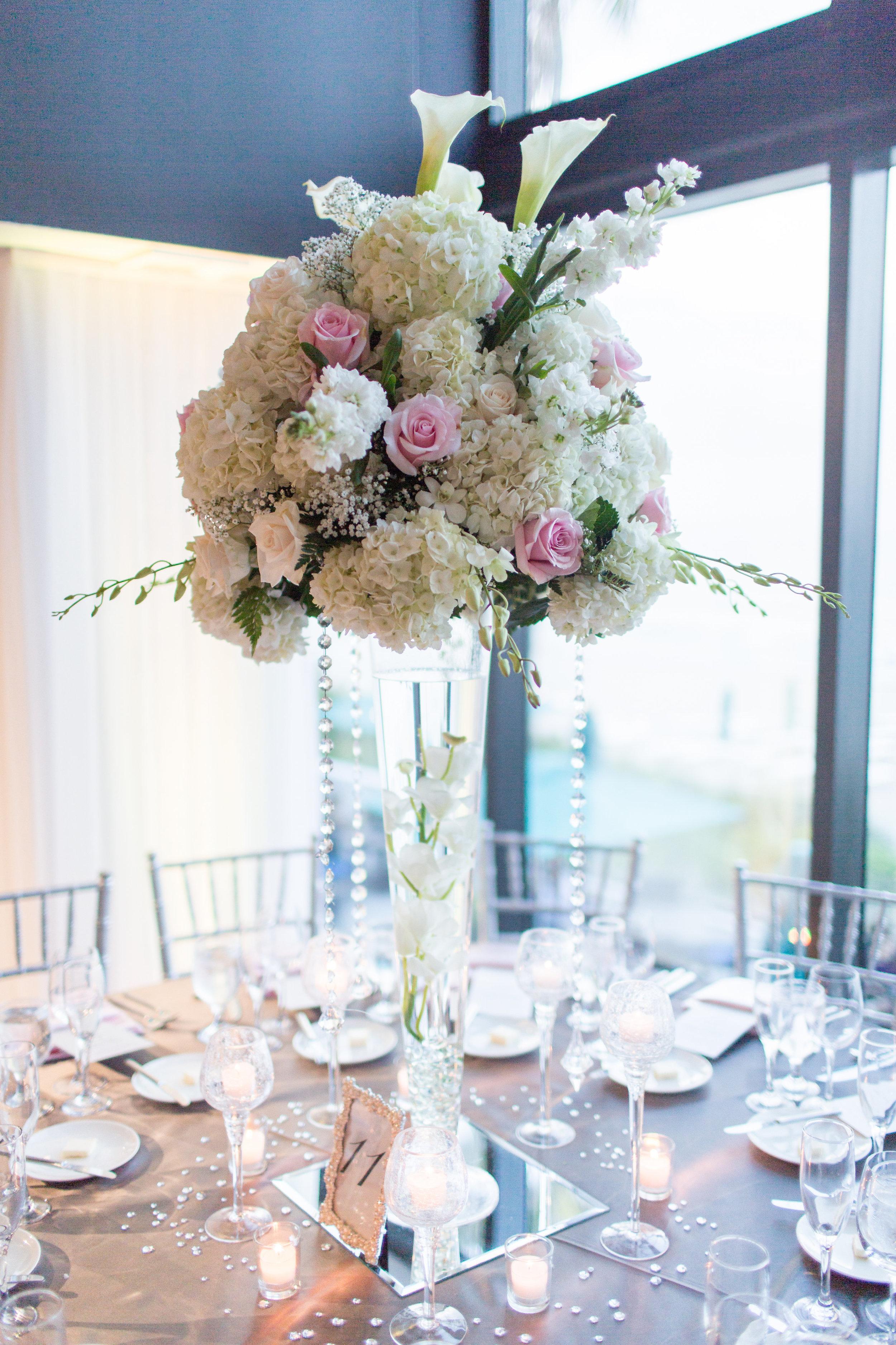 wedding flower centerpiece