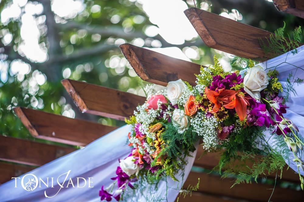 Wedding flowers decor