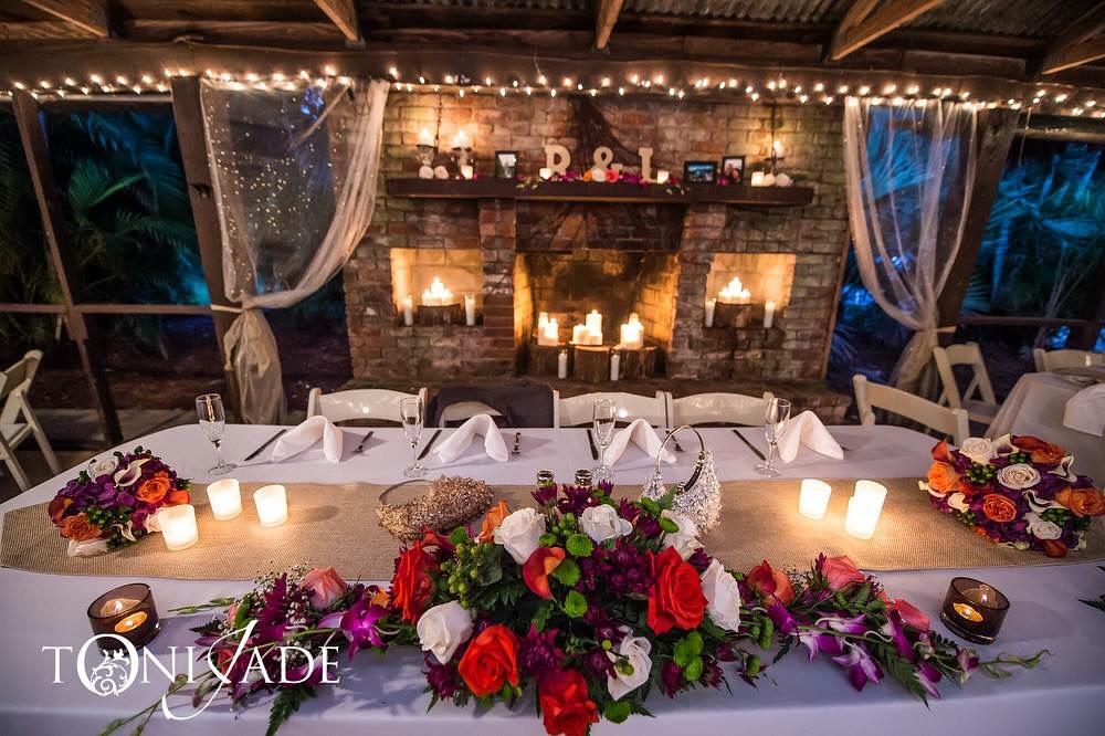 wedding bridal table