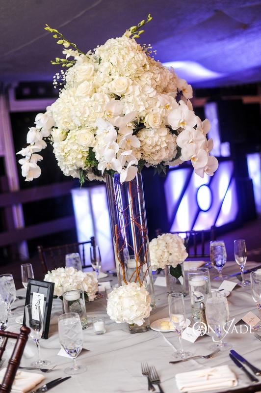 West Palm Beach Florist Wedding centerpiecE Design
