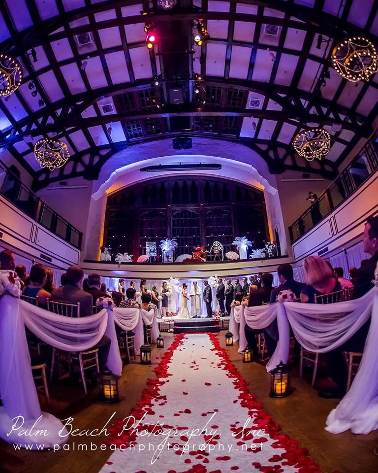West Palm Beach wedding - Harriet Himmel Theater