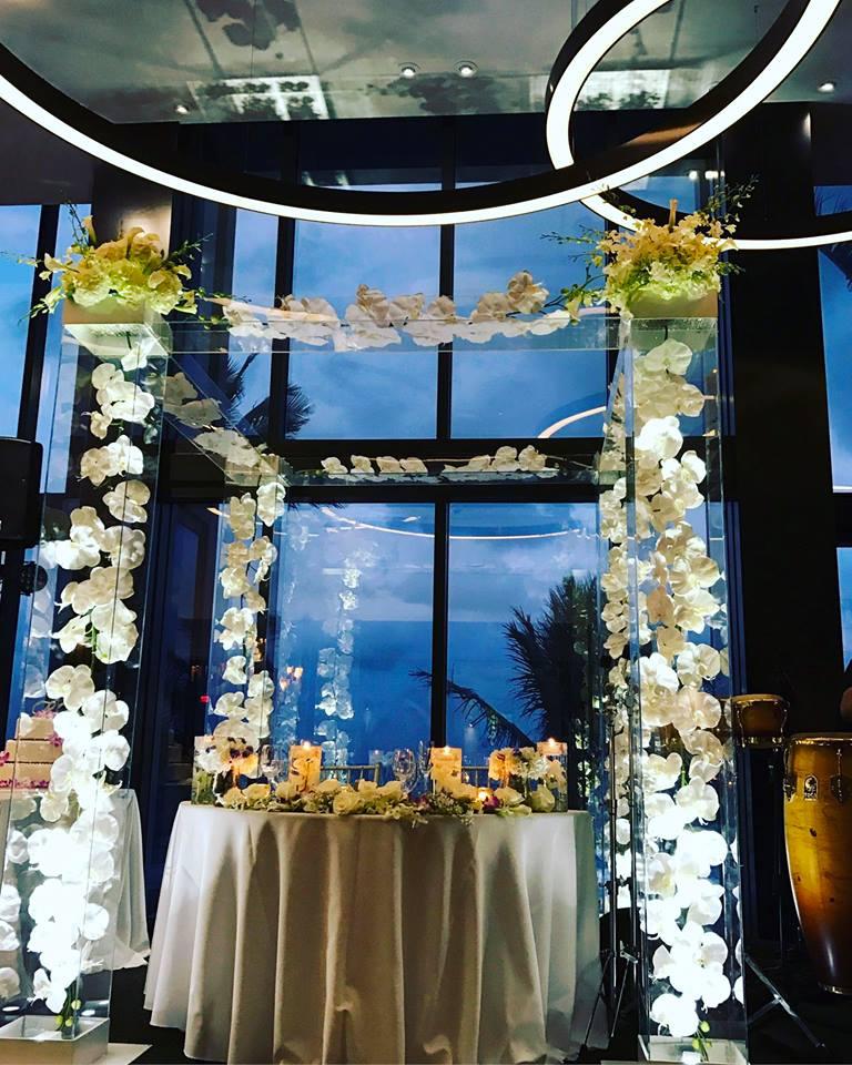 Tideline ocean resort wedding florist