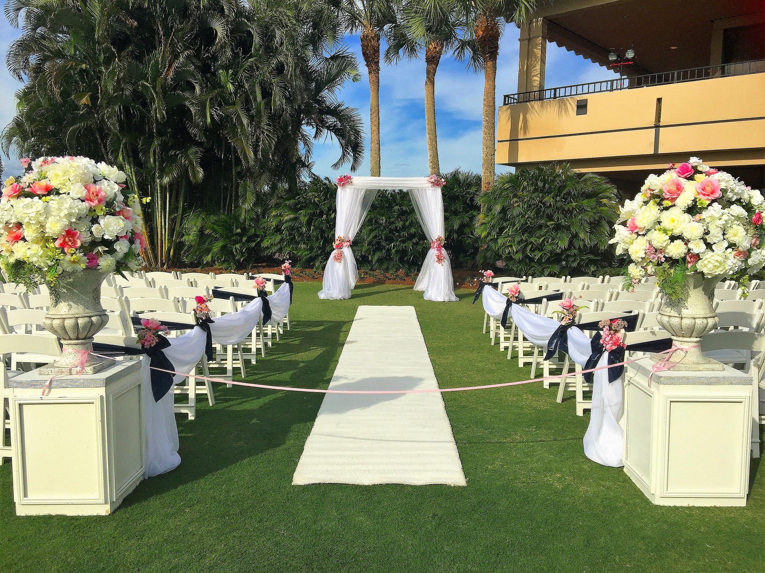 Breakers West Country Club Wedding