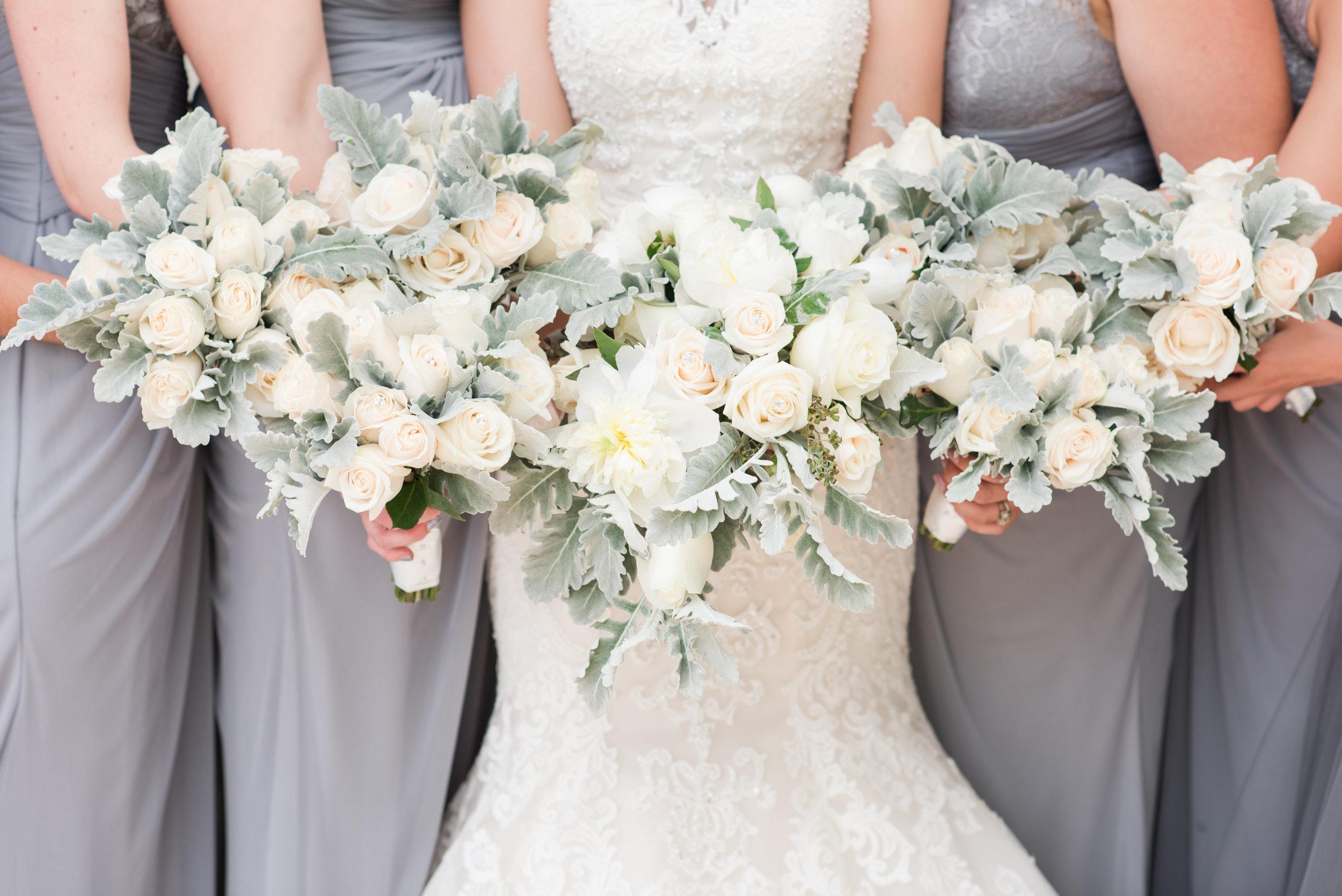 Palm beach county florist bridal party bouquets