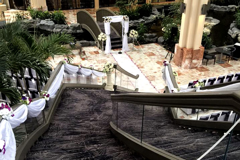 Embassy Suites Palm Beach Gardens Wedding Florist