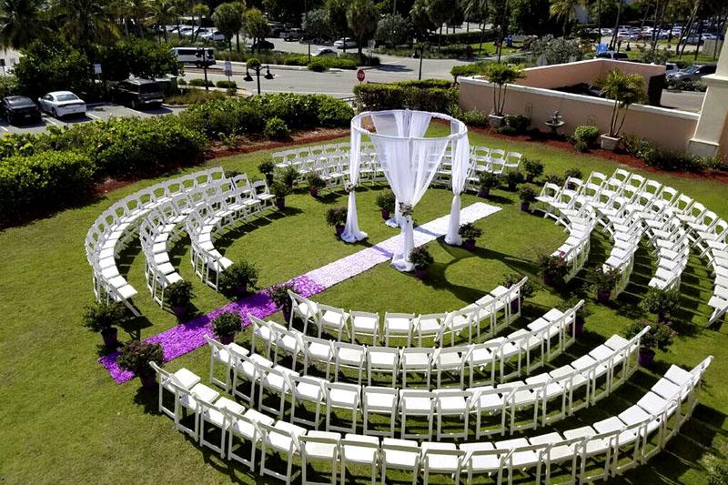 Lake Worth Casino Ballroom Wedding Florist