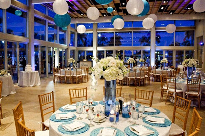 West Palm Beach Lake Pavilion Wedding Florist