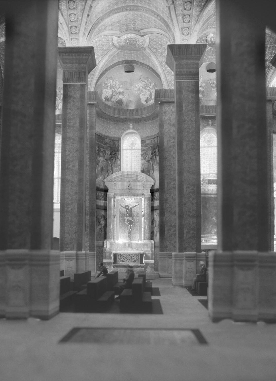 Modellaufnahme mit Lichtsimulation; Bild + Modell: Lichtplanung Christian Bartenbach, Insbruck A