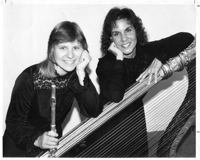 Lois Herbine and Sophie Labiner, 1985 pubicity photo