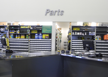 PARTS DEPT COUNTERS    View