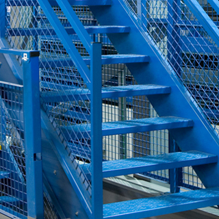 Staircases   Superior construction means our mezzanine staircases meet even the most stringent building code requirements.