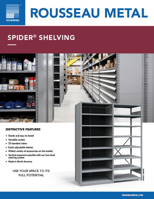 Rousseau Spider Shelving