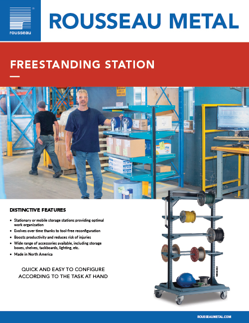 Rousseau Freestanding Station