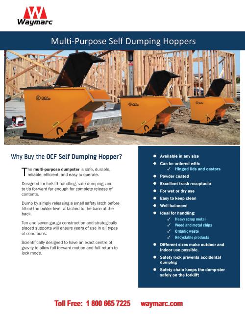 OCF Self-Dumping Hopper