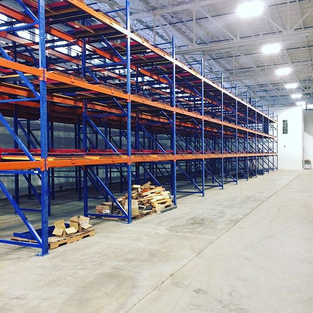 High density pallet storage at its best!Check out this Push Back Racking System we just completed!! • • • • #oilsandsproud #northeralberta #yeg #yeglocal #edmonton #edmontonalberta #edmontonbusiness #edmontonsmallbusiness #edmontonmade #fortmac #oilsands #fortmcmurray #ymmsmallbusiness #fortmcmurraysmallbusiness #oilandgas #oilrig #heavydutymechanic #pipeline #grandprairie #tarsands #refinery #upgrader #oilindustry #oilfield #automotive #porsche #toolboxporn #toolbox