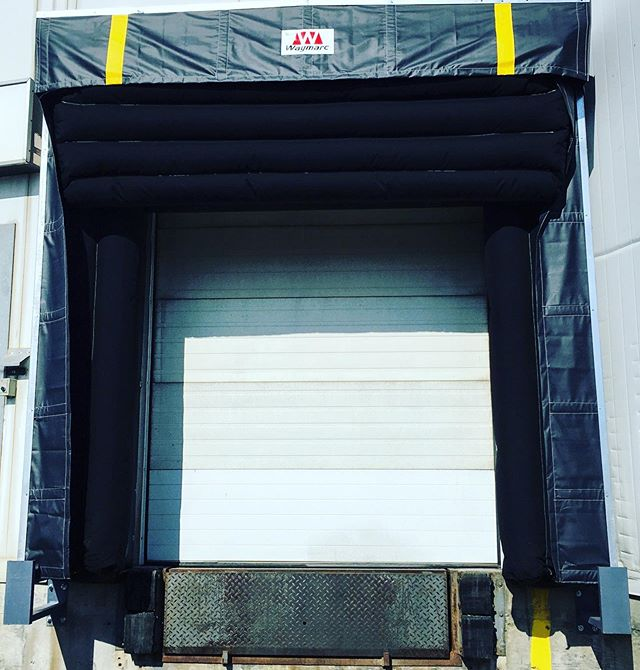 A brand new dock seal for an awesome client in the food industry.  Their Waymarc local storage expert and territory manager worked with them to assess requirements and supply a dock seal that met their specifications!! • • • • #regina #yqr #ywg #yqrlocal #winnipeg #ywglocal #saskatoon #yxe #saskatooning #yxelocal #shopyxe #saskag #saskdesign #shoplocalyxe #saskproud #sask #northernsaskatchewan #sasky #saskconstruction #saskmade #manitoba #shopsaskatoon #saskatchewan #saskatoonbusiness #yxeconstruction #sasktrades #ibuildsaskatchewan #306  #204 #yorktonsk