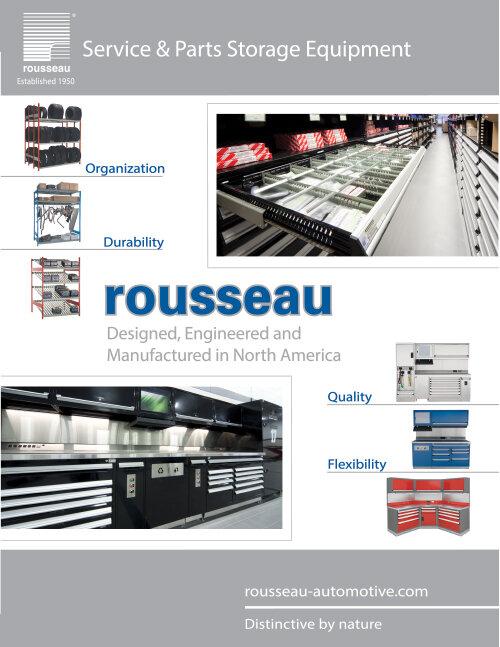 Rousseau Service & Parts Storage