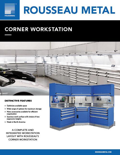 Rousseau corner Workstation