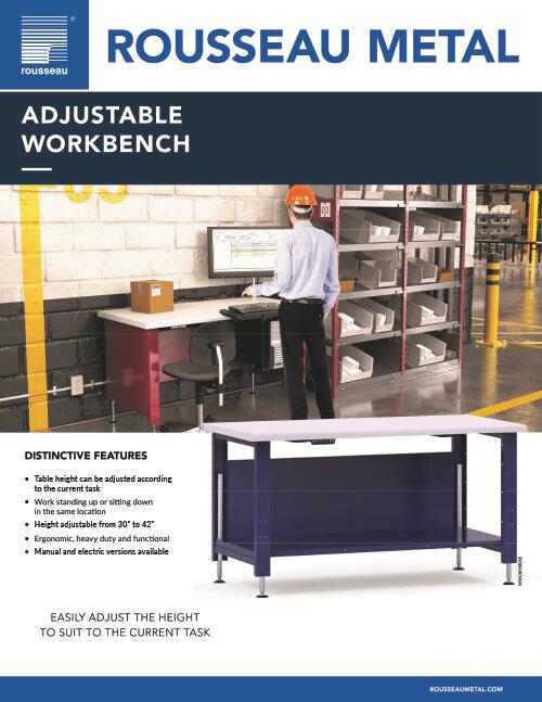 Rousseau Adjustable Workbench