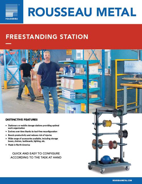 Rousseau Freestanding Station