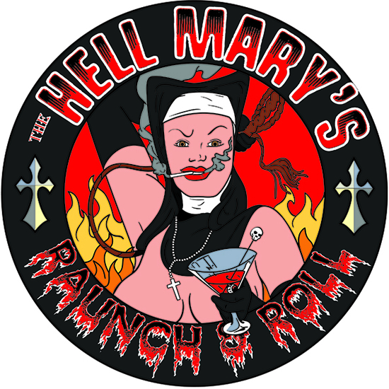 Copy of The Hell Mary's Band Logo