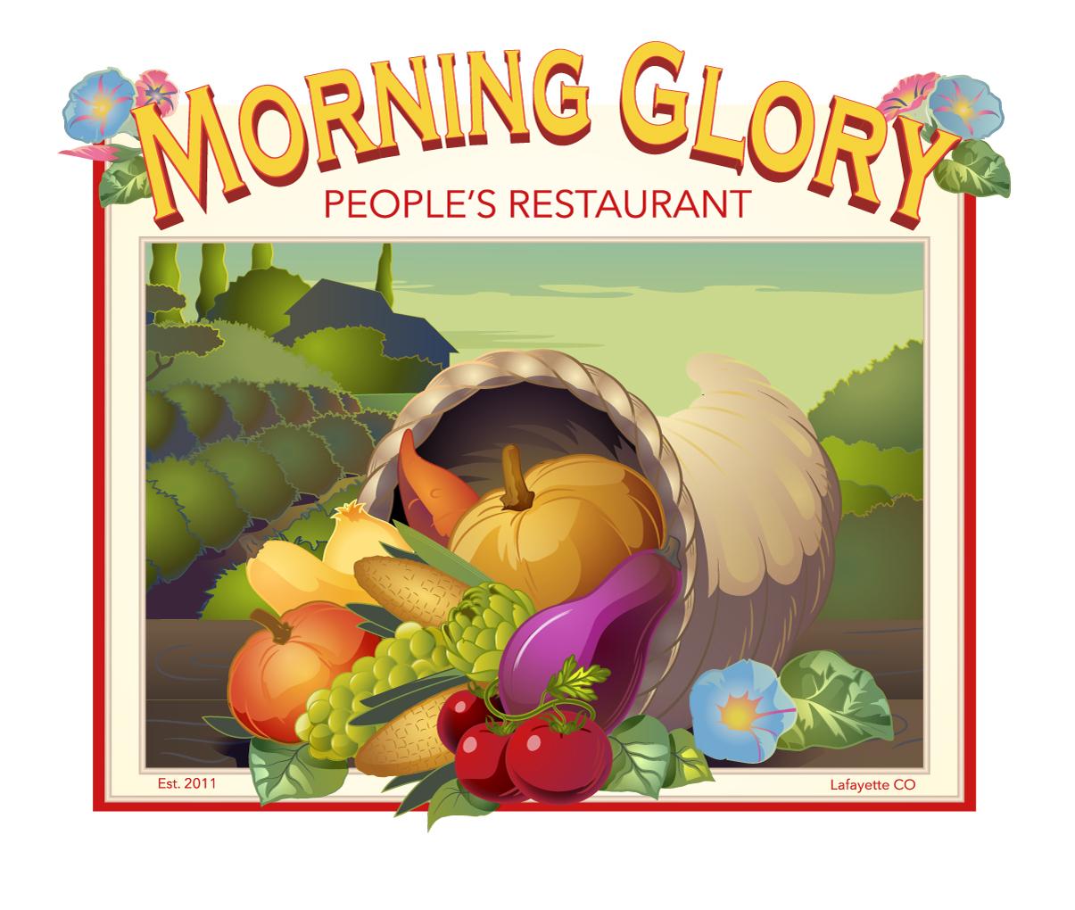 Copy of Logo Sign Design Morning Glory Cafe
