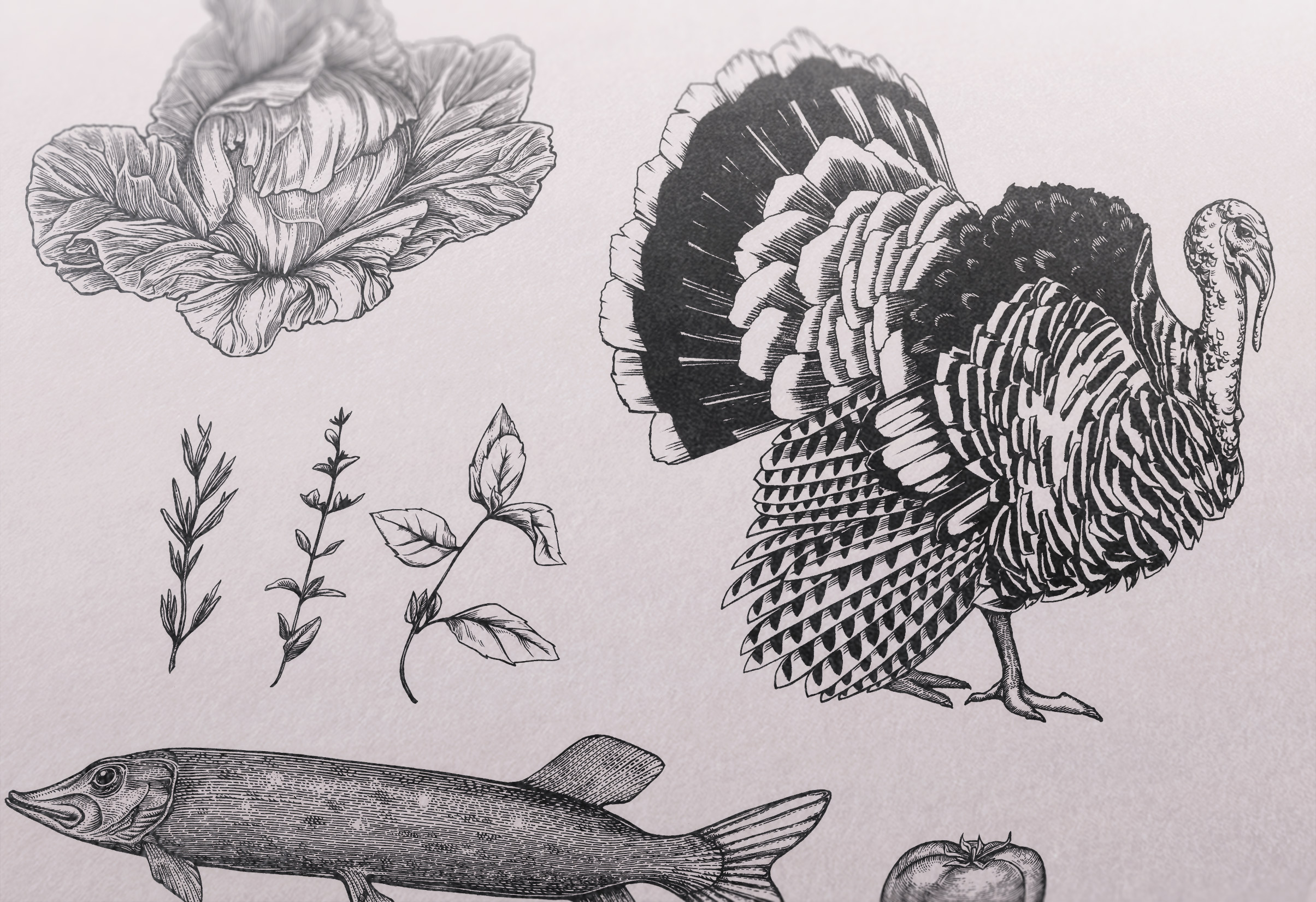 bunch engravings