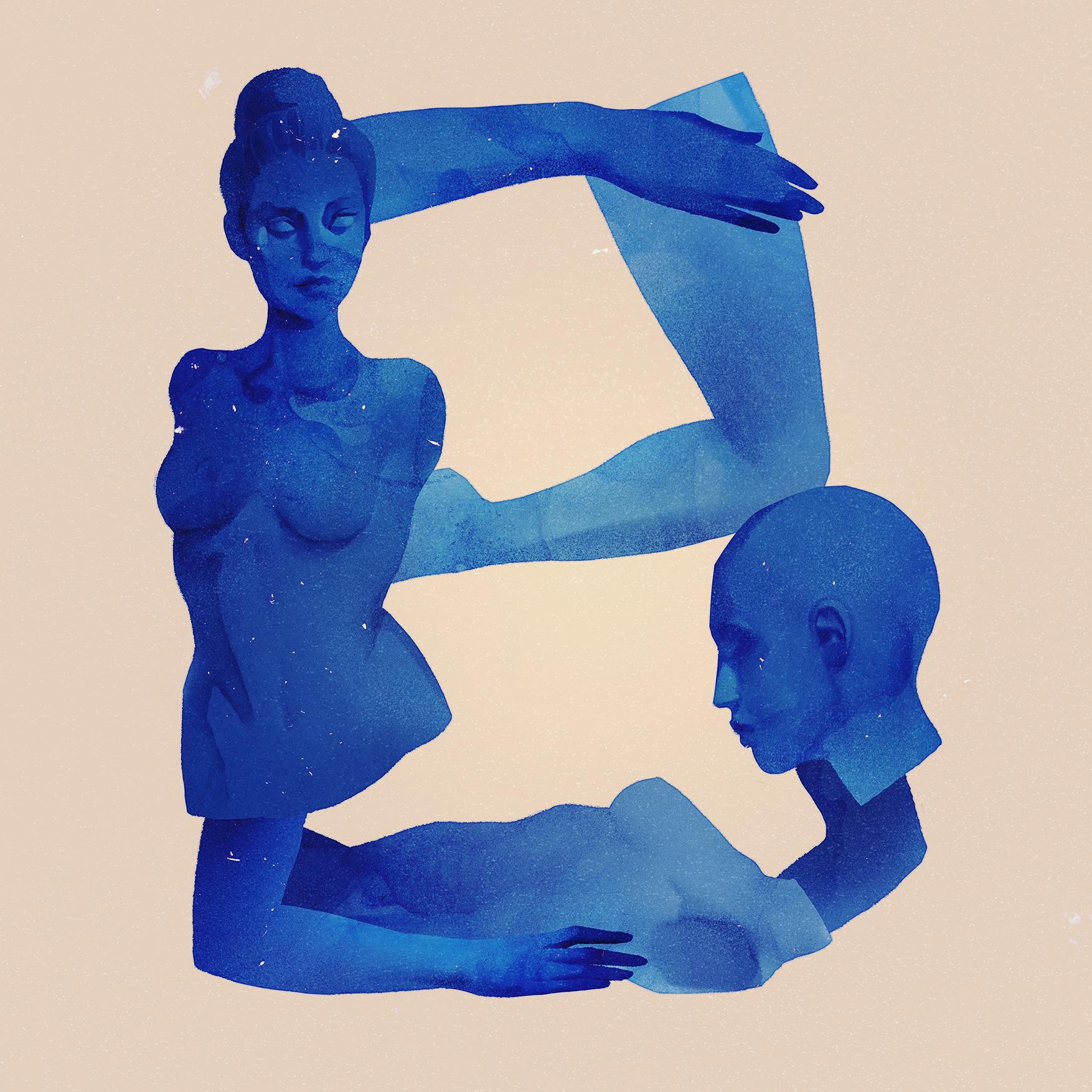B - BLUE / YVES KLEIN