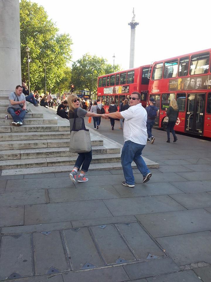 London, September 2014 - on our first European Tour