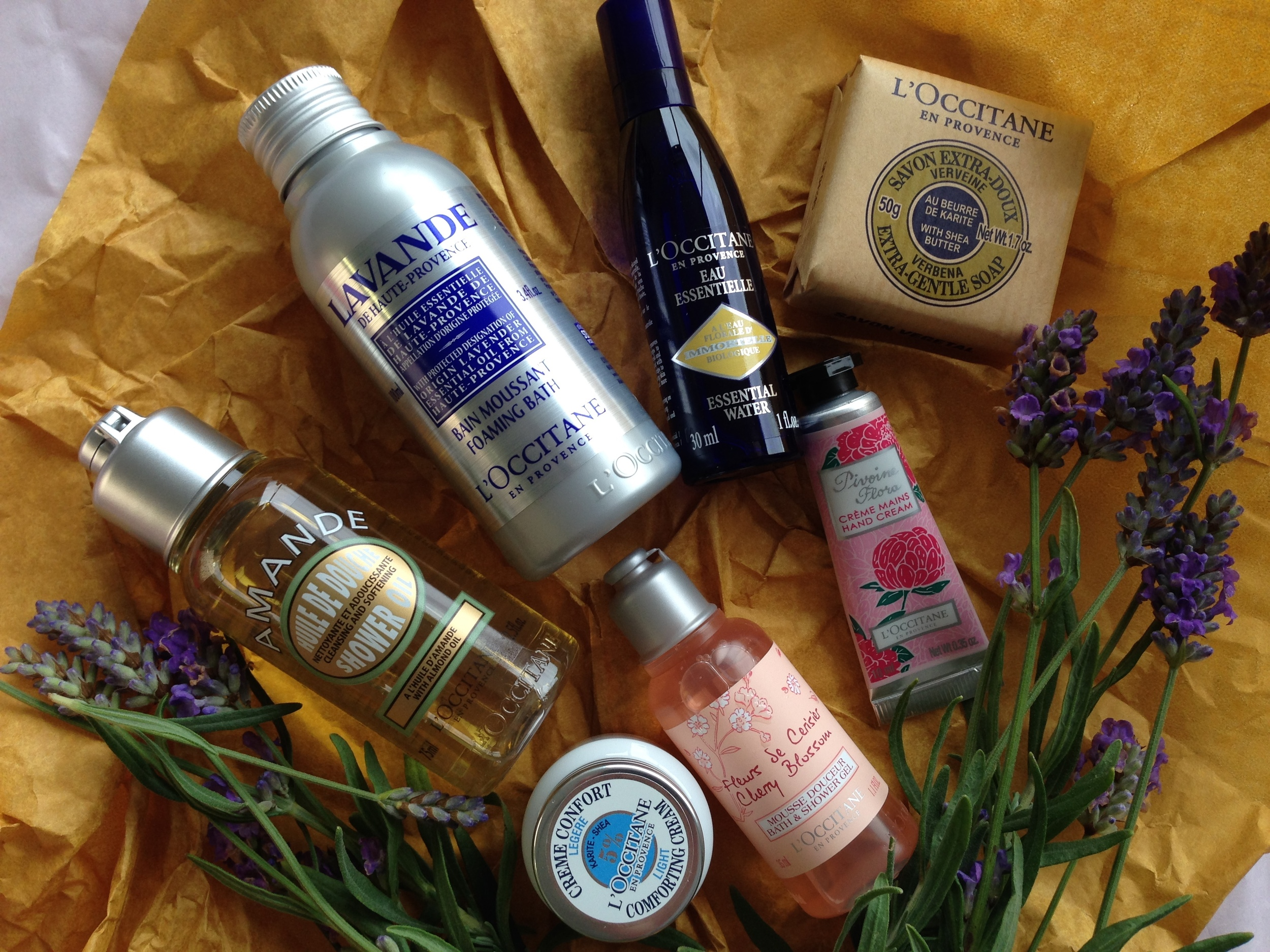 Holiday Essentials Kit contains travel sizes of some of L'Occitane's most popular products.