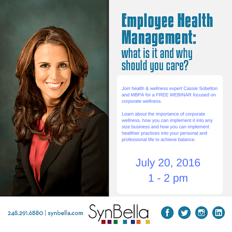 Cassie Sobelton discusses Employee Health Management and explains why you should care.