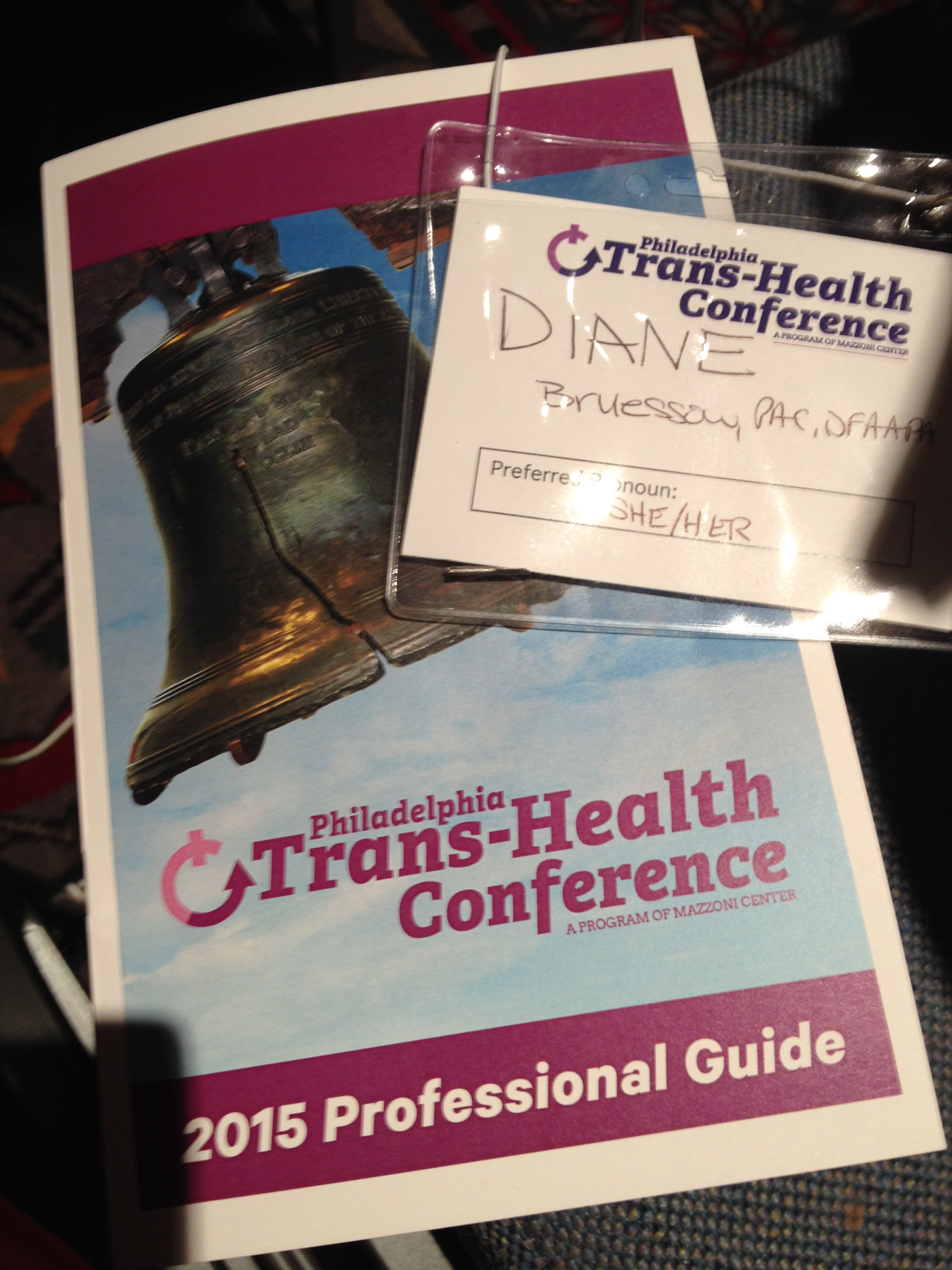 I've either presented at or attended the Philly Trans-Health Conference since it's debut!