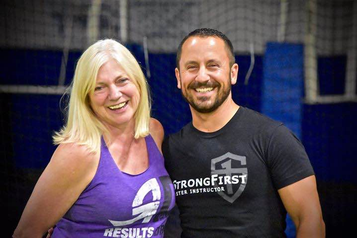 Coach Violet and Master SFG Phil Scarito.