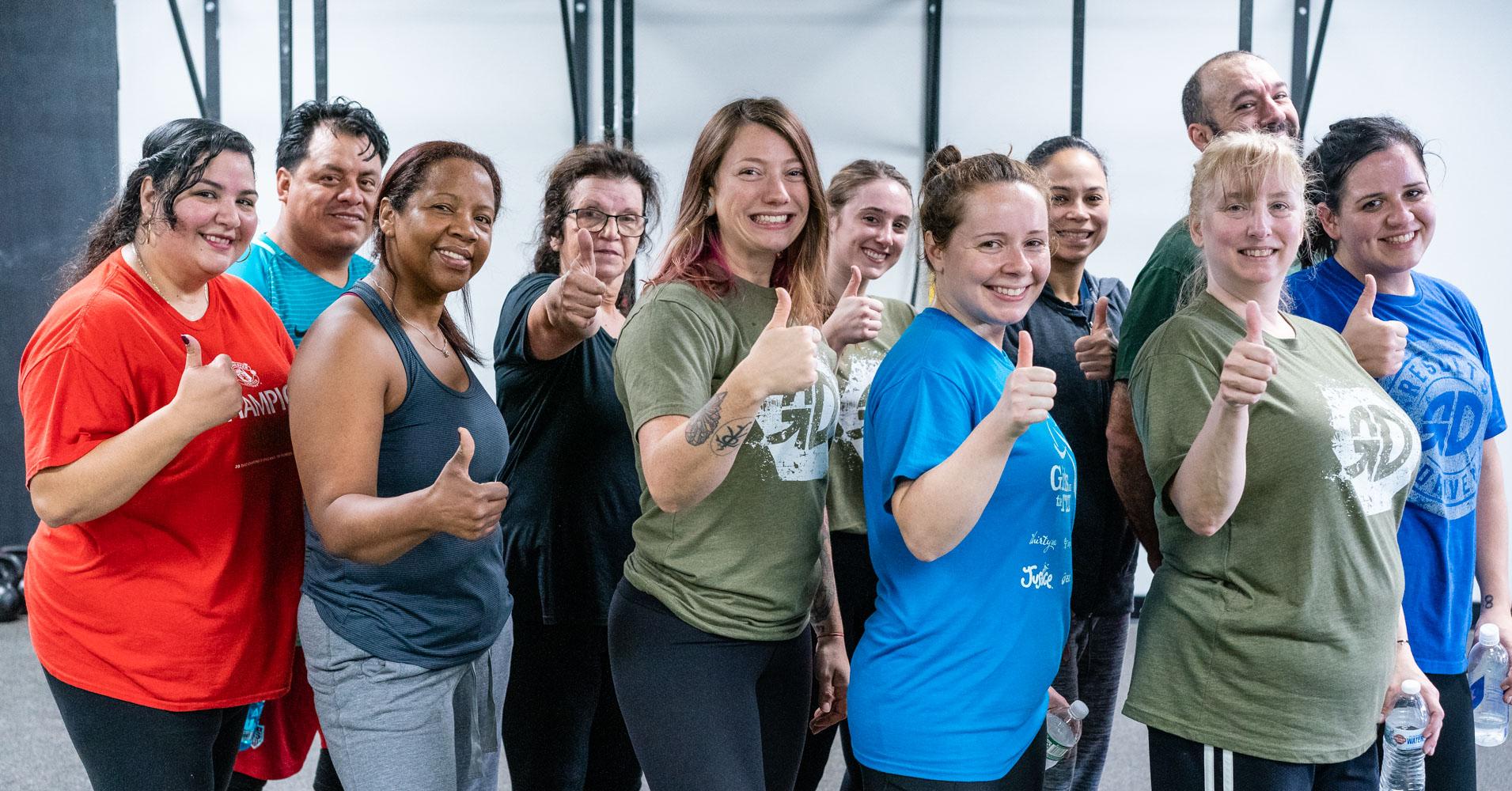 team thumbs up 9 women 2 men saturday morning facebook ad.jpg