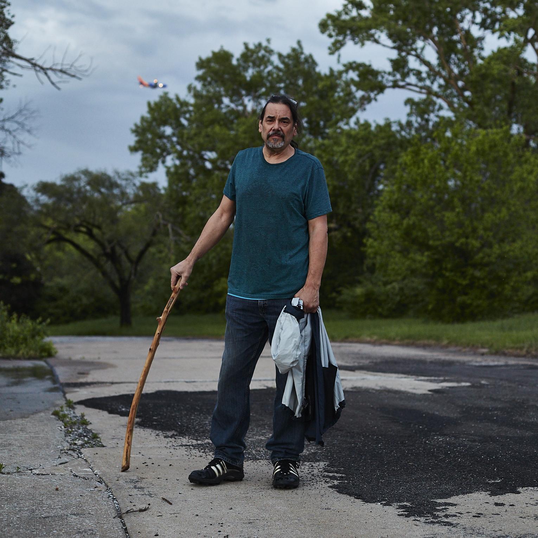Ken Hawk found walking in the Carrollton neighborhood in Bridgeton on April 30th, 2017.