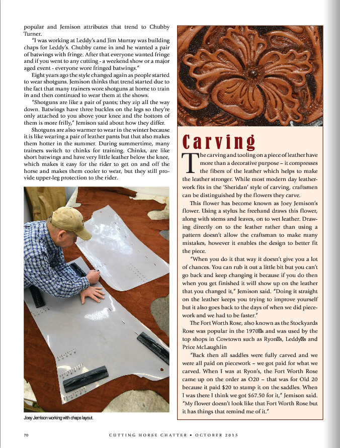 NCHA Chatter JJ Article Page 70.png