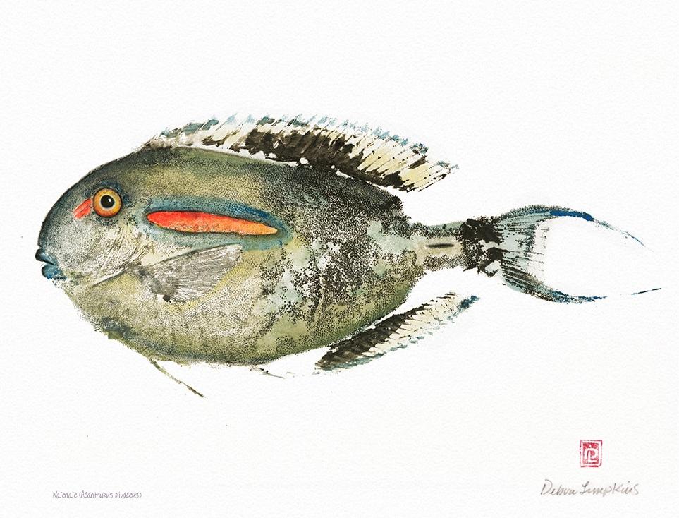 Debra Lumpkins / Gyotaku / Kihei, HI