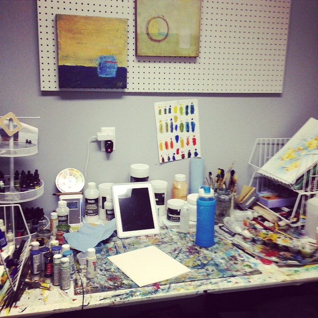 Studio shot while I wait for my brain to load the next design... And yes, this is about as neat as it gets