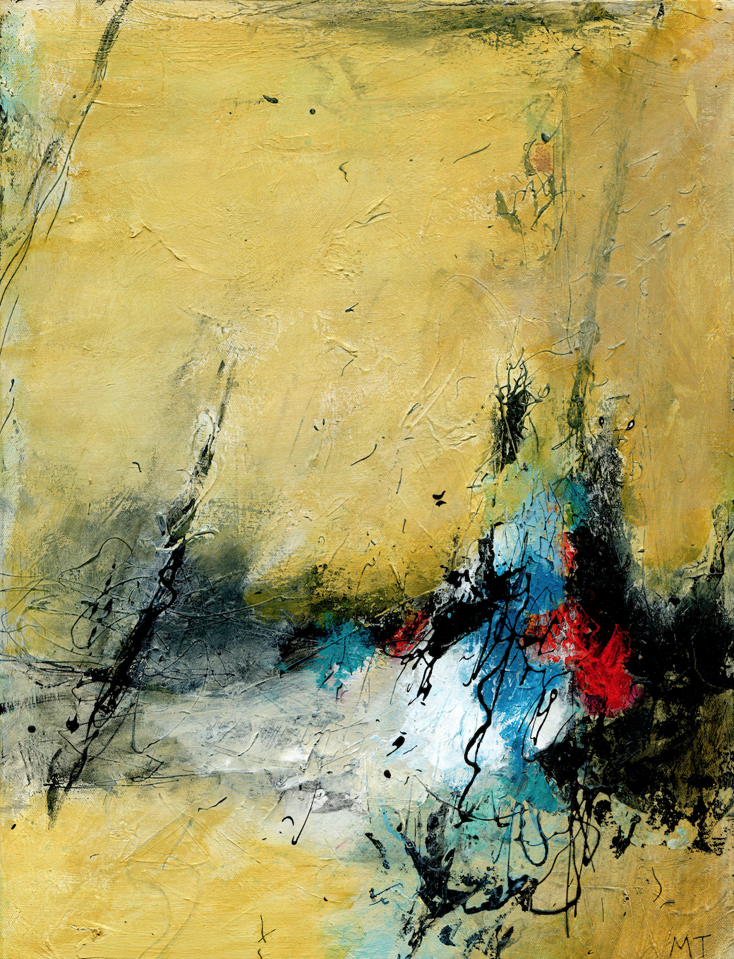 Curious, 2016 (SOLD)