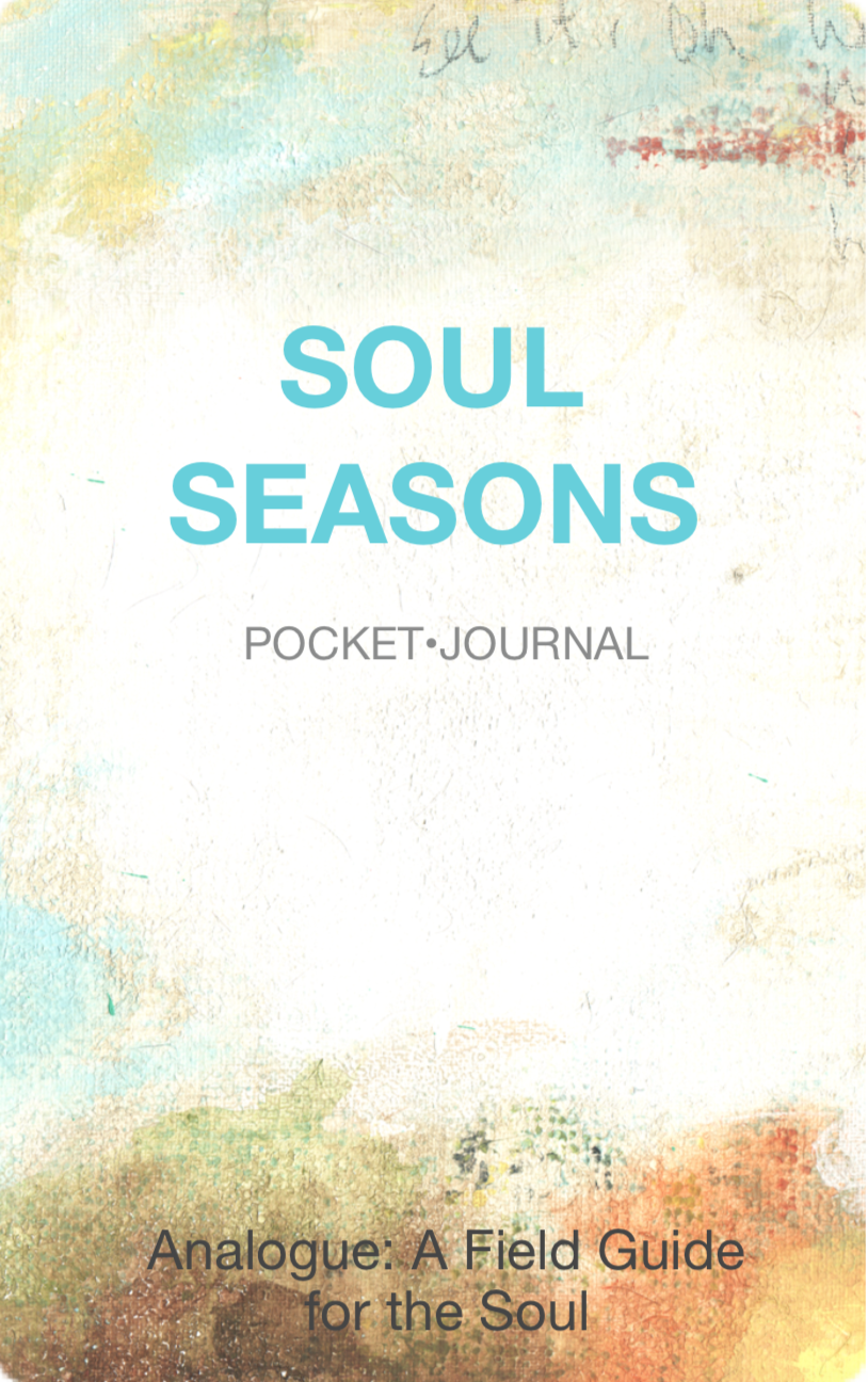 Your Pocket Journal - A guided journal, with prompts and reflection questions to help you capture the patterns of your soul.For a taste of Analogue, download here:
