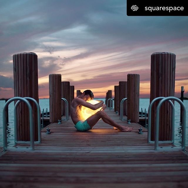 """Posted @withrepost • @squarespace Surreal and captivating, artist/collector/entrepreneur @jamesmiille's work demands a second (or third, or fourth) glance. """"I work at the intersection between the real world and the imagined, between my mind and my experiences, and between dark and light,"""" says James. #SQSPCustomer . . . Thank you Squarespace!! 🔳🖤"""