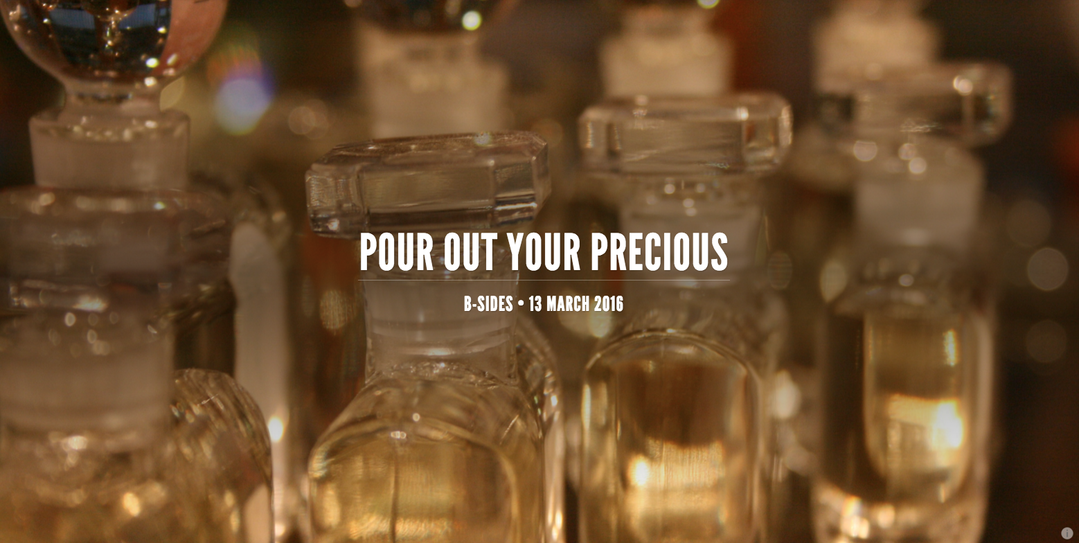 Without much effort each of us can come up with excuses for keeping our perfume in the cabinet when Jesus comes to dinner.