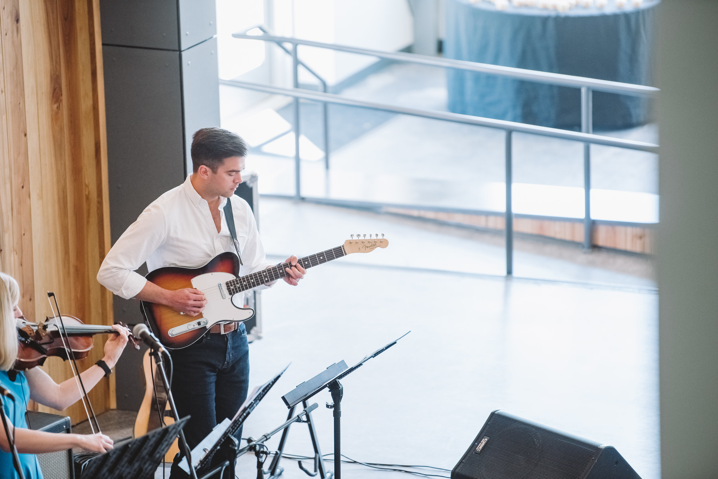 MUSIC - The goal of the musicians at DOWNTOWN CHURCH is to blend the old and new, the familiar with the unexpected — creating a sound somewhere between secular and sacred.