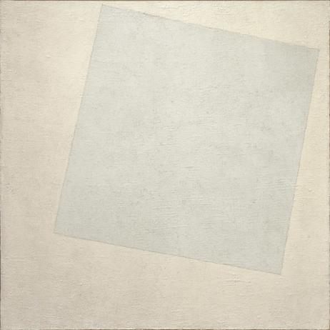白底上的白方块