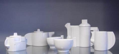 马列维奇设计的茶具,谁用谁知道不能用
