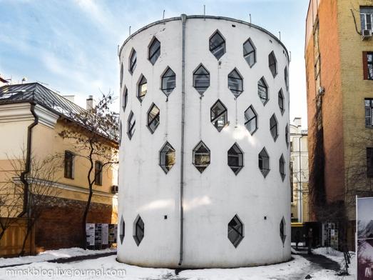 构成主义建筑师梅利尼科夫给自己设计的家