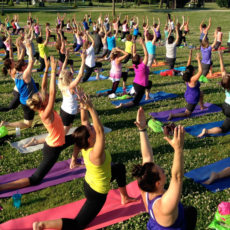 Complimentary Pre & Post-Run Yoga Classes by CorePower Yoga Pasadena