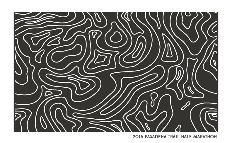 2016 Pasadena Trail Half Marathon Shirt - Gender Specific Sizing & Soft Poly/Cotton